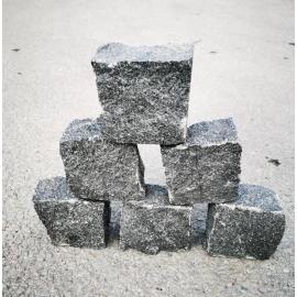 Granito juodos trinkelės 10x10x5 cm, kg
