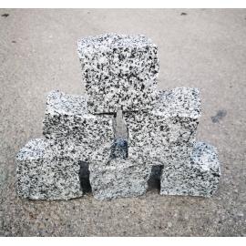 Granito pilkos Z trinkelės 10x10x5 cm, kg