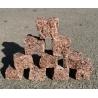 Granito raudonos Z trinkelės 5x5x5 cm, kg