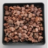 Rausva kvarcito skalda 10-20 mm, 20kg