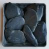 Juodas skalūnas gludintas 40-100 mm, 20kg