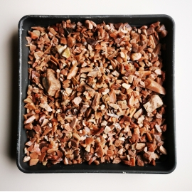 Rausva kvarcito skalda 5-10 mm, 20kg